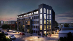 Rendering of development at 2009 West Leigh St, Richmond, VA