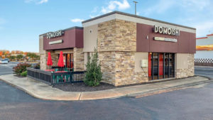 Domoishi location, DW Center, 412 Denbigh Blvd., Newport News, VA