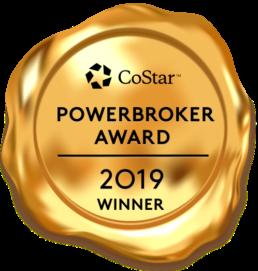 CoStar Power Broker Badge