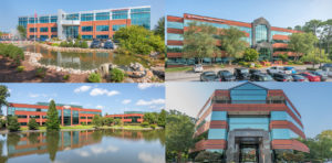 Four of the 22 Building Portfolio DRE to Lease and Manage